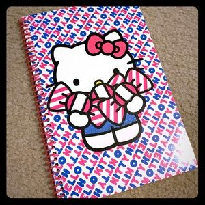 TWO NEW Hello Kitty notebooks 9x6
